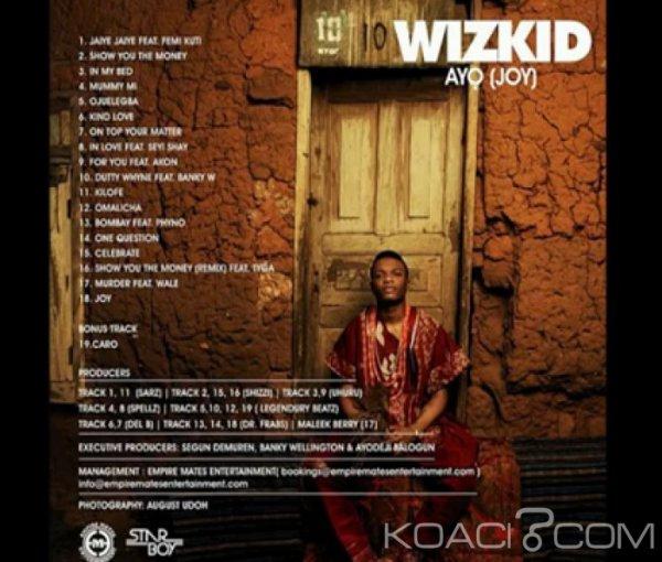 Wizkid - Celebrate - Naïja