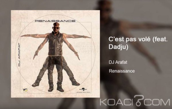 DJ Arafat - C'est pas volé Ft. Dadju - Coupé Décalé
