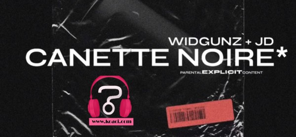 Widgunz - Cannette noire