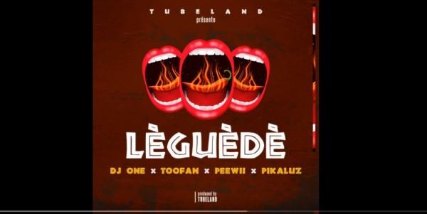 Dj One -  LEGUEDE Ft. Toofan, Peewii et Pikaluz - Togo