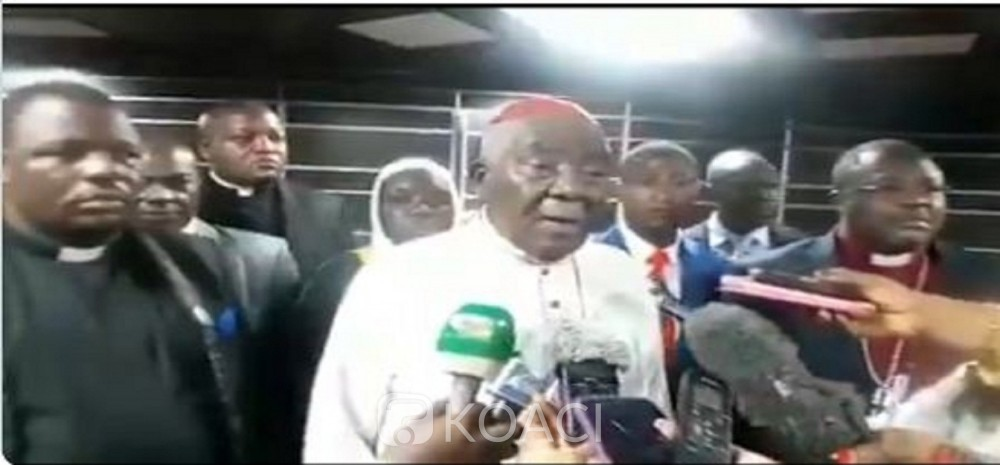 Cameroun: Grand dialogue national, en vedette le cardinal Tumi remet un mémorandum de 400 pages au PM