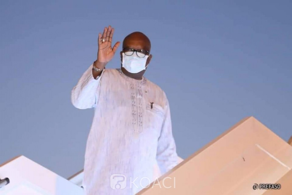 Burkina Faso : Le président Kaboré en visite à Libreville