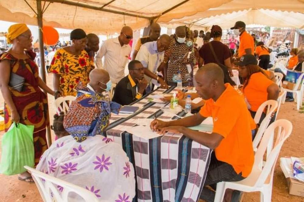 Côte d'Ivoire : Caravane opération tiroirs vides, fin de l'étape d'Abengourou, les MCLU dépose ses valises dans la cité des antilopes, Daloa