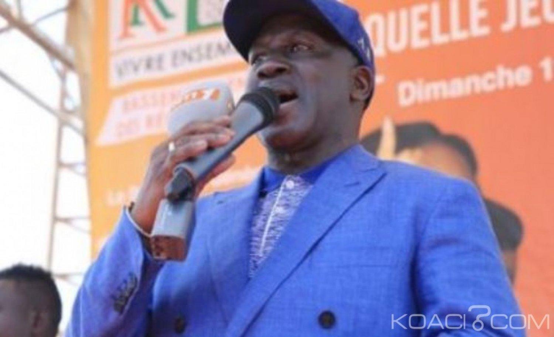 Côte d'Ivoire : La réaction de Bictogo à la sortie de Guillaume Soro à Ferkessedougou