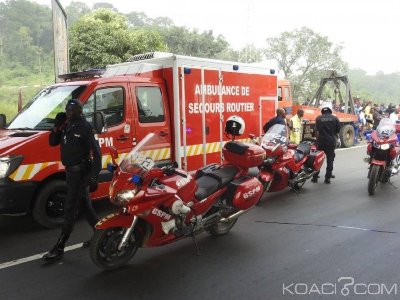 Côte d'Ivoire : 12 974 accidents de circulation survenus dans le pays en 2018