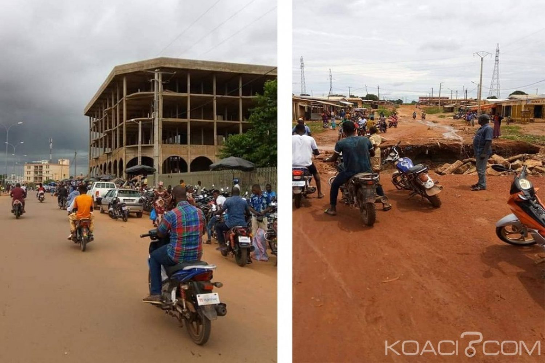 Côte d'Ivoire: À Korhogo, pour le port de casque, policiers frappés et chassés des artères