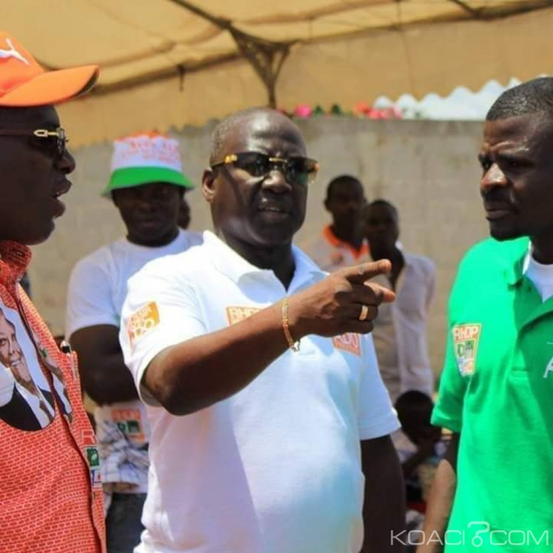 Côte d'Ivoire : A la présentation du pagne Rhdp, Bictogo catégorique «le 27 janvier, tu n'es pas Rhdp unifié, tu rends le tabouret»