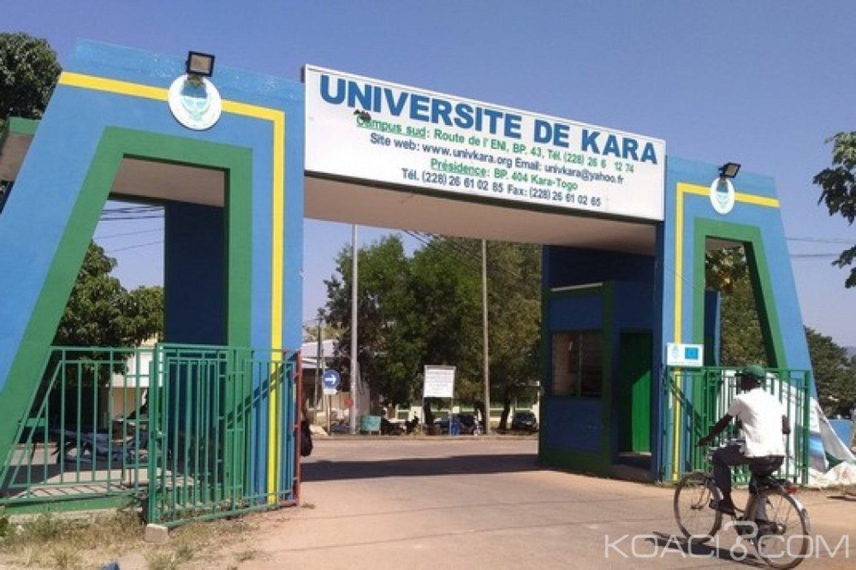 Togo : Reprise des cours à l'Université de Kara
