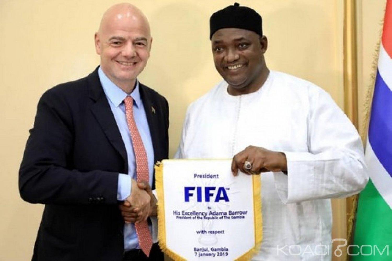 Gambie : La FIFA promet de rehausser le niveau du football dans le pays