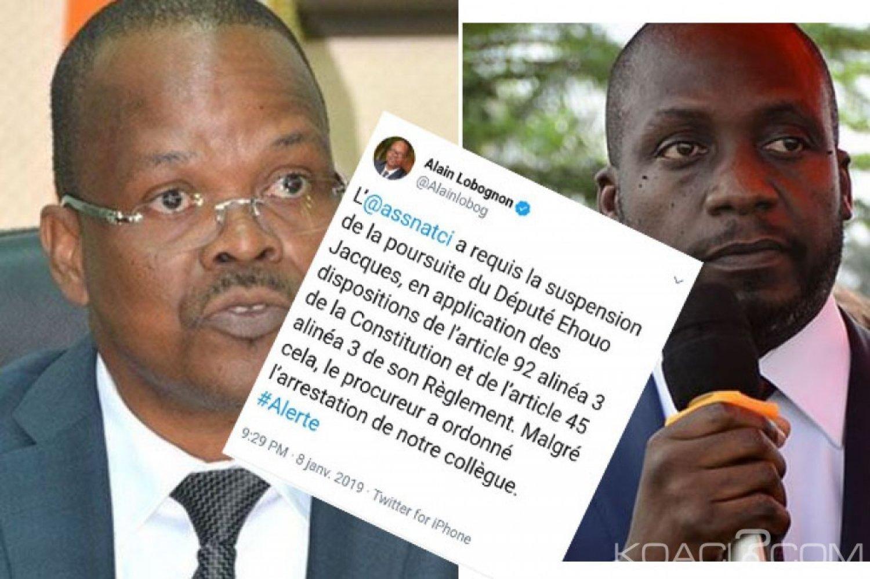 Côte d'Ivoire : Affaire de détournement au Plateau, Lobognon annonce une fausse nouvelle d'arrestation de Ehouo