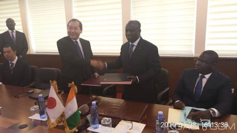 Côte d'Ivoire : Abidjan, Échangeur d'amitié ivoiro-japonaise, le Japon décaisse 25,1135 milliards de FCFA pour les travaux de la deuxième phase