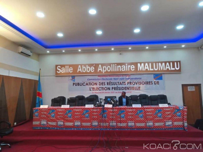 RDC: Présidentielle , la CENI finalement «prête» pour la publication des résultats provisoires