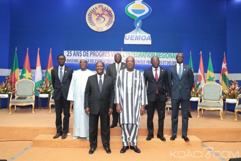 Burkina Faso : Uemoa, après l'intégration économique, Ouattara appelle à celle politique