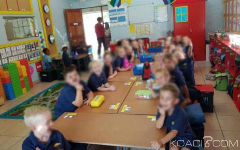 Afrique du  sud :  Une école accusée de racisme après la diffusion d'un cliché  dans  une salle de classe