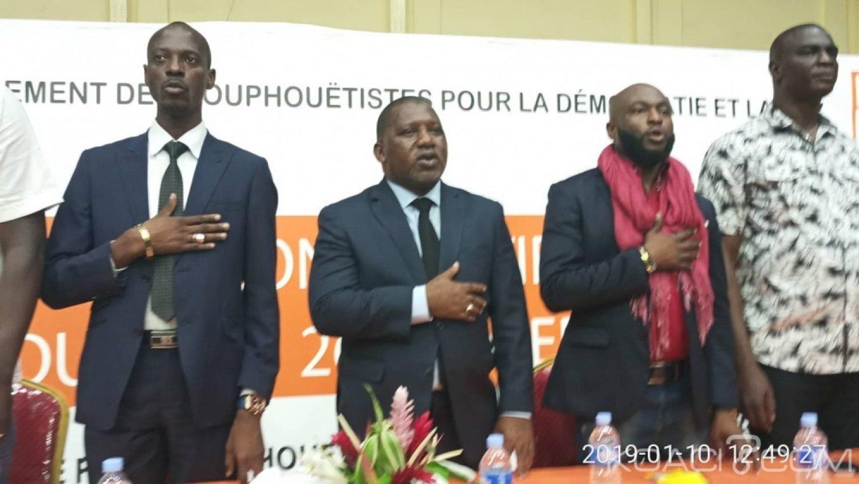 Côte d'Ivoire : RHDP, Sidiki Konaté promet des emplois aux membres des mouvements et associations de soutien s'ils se mobilisent massivement le 26 janvier