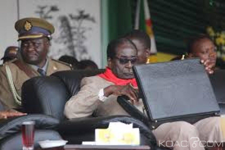Zimbabwe : Une valise d'argent dérobée dans une propriété de Mugabe