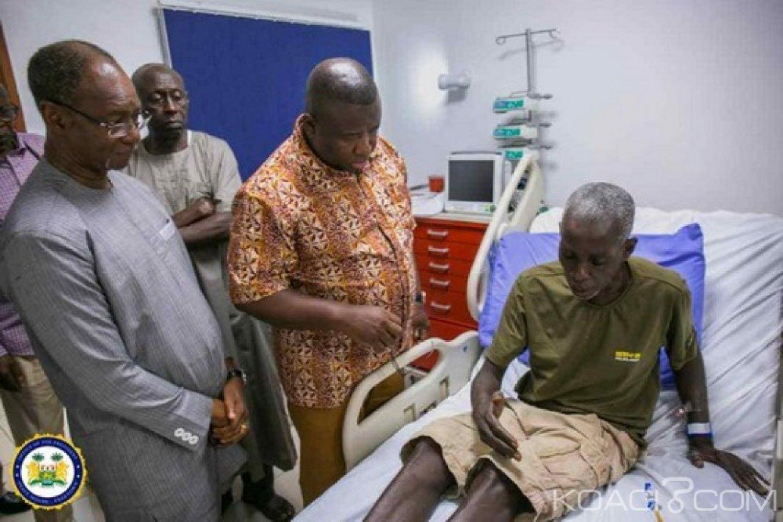 Sierra Leone - Ghana : Malade, l'ancien chef de la junte, Valentine Strasser, à sauver