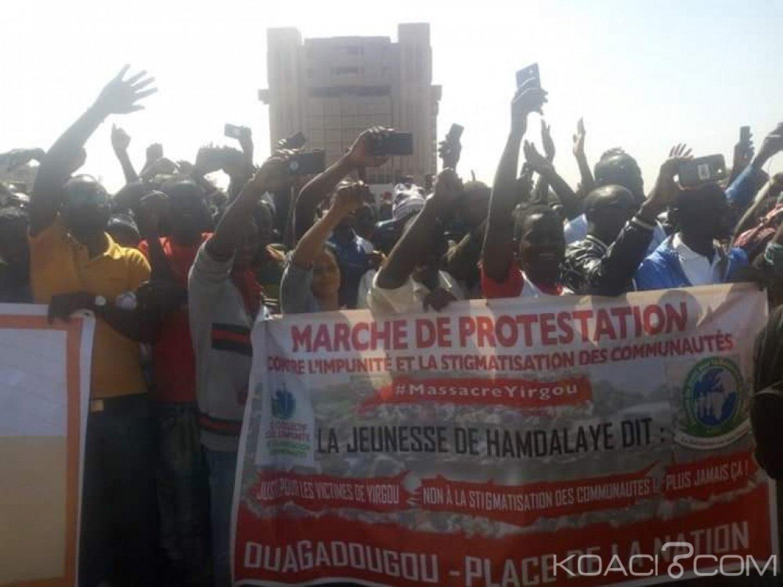 Burkina Faso : Marche contre l'impunité et la stigmatisation dans plusieurs villes