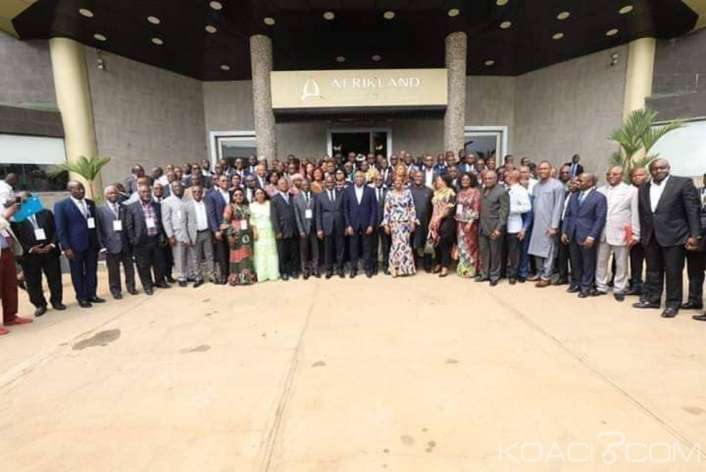 Côte d'Ivoire : Séminaire Rhdp à Bassam, Gon revendique l'adhésion de 164  députés sur 253