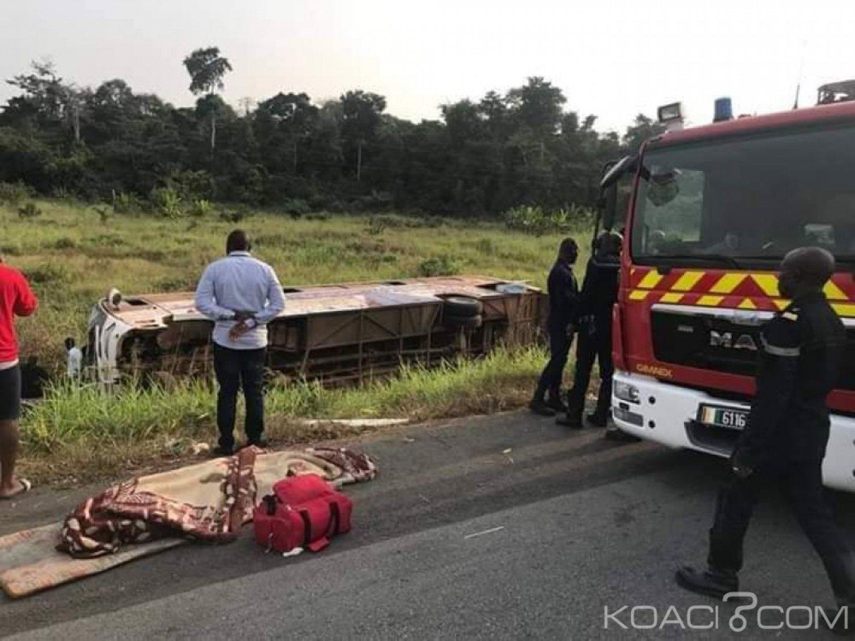 Côte d'Ivoire: Dimanche noir sur l'autoroute du nord, un accident fait 67 victimes dont 5 décès