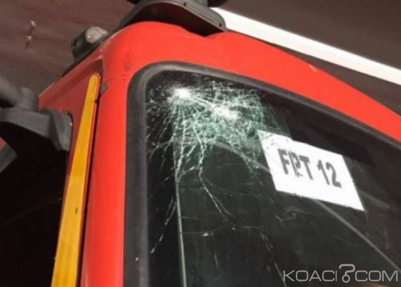 Côte d'Ivoire : En intervention à Abobo, un engin des sapeurs-pompiers accueilli par une foule hostile