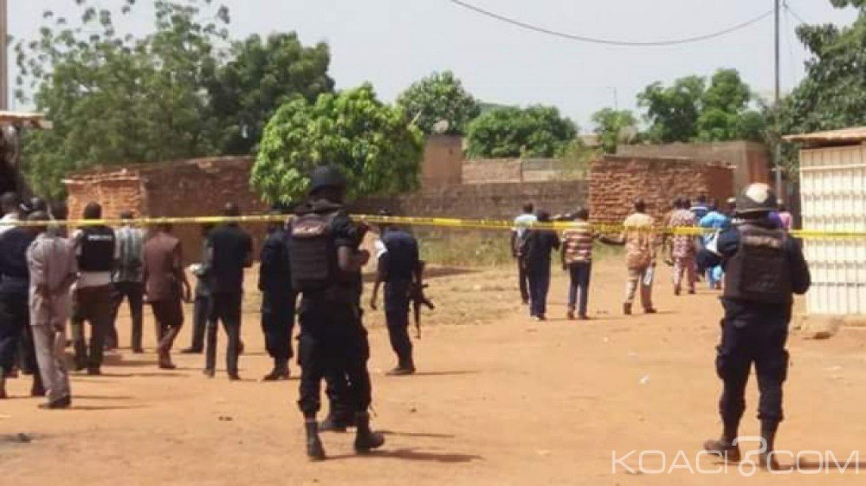 Burkina Faso : Trois personnes dont deux policiers tuées lors d'une mission d'interpellation