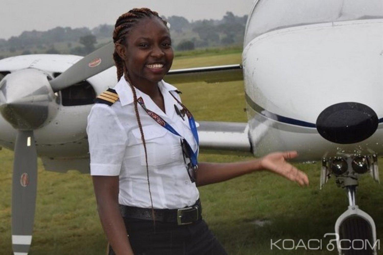 Ghana : La jeune Audrey Esi devient un pilote