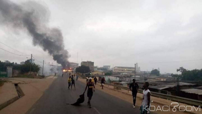 Côte d'Ivoire: À Anyama, confusion autour d'une violente manifestation des syndicats