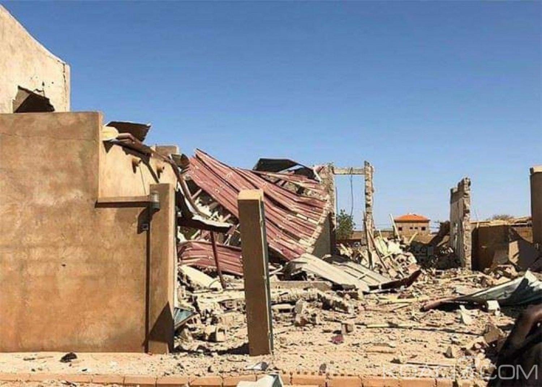 Burkina Faso : Un mort, une dizaine de blessés et une quarantaine de maisons en ruine, après une forte explosion à Ouagadougou