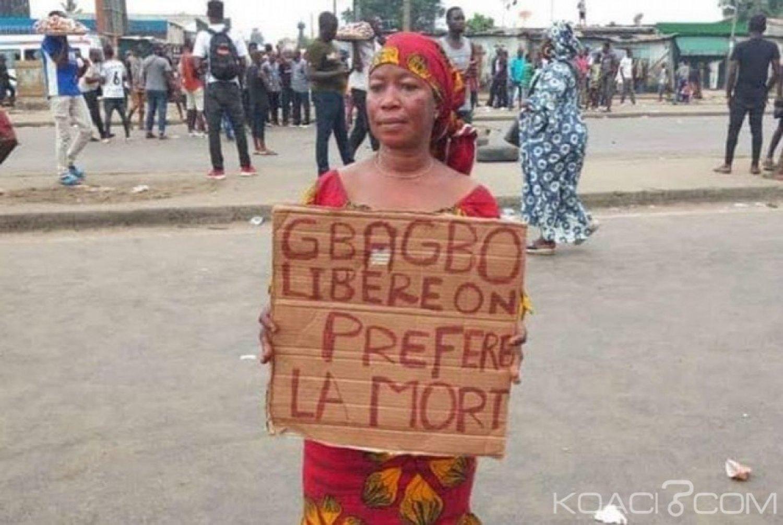 Côte d'Ivoire : Manifestation à Abobo «on préfère la mort à la liberté de Gbagbo»