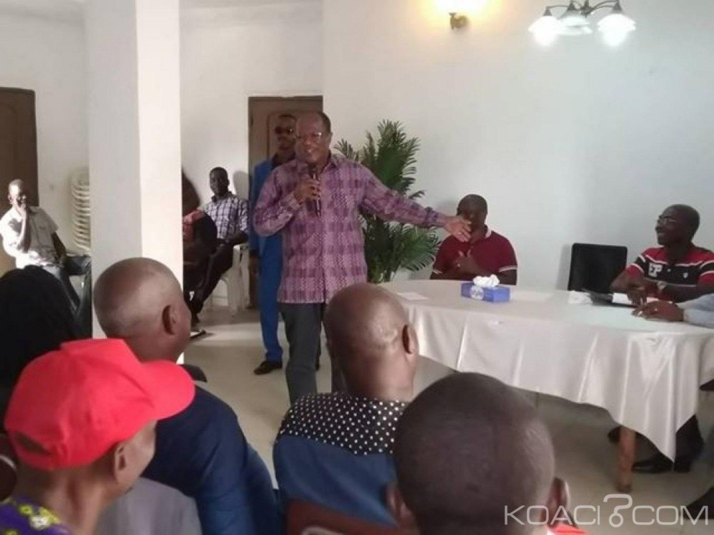 Côte d'Ivoire: Recevant les membres des espaces de libre échanges, Ouegnin rassure «restez calme, les bagages de Gbagbo sont déjà prêts, il va rentrer au pays»