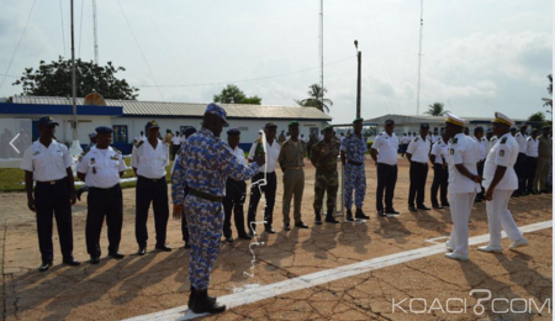 Côte d'Ivoire : Marine Nationale, L'amiral N'Guessan à ses éléments, « Faites attention aux rumeurs »