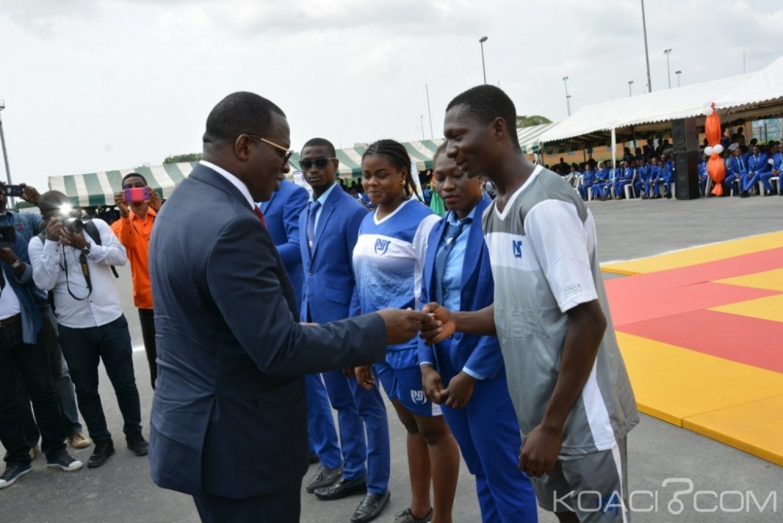 Côte d'Ivoire : Institut national de la jeunesse et des sports (INJS), les bà¢timents  des VIIIe jeux de la Francophonie cédés aux étudiants