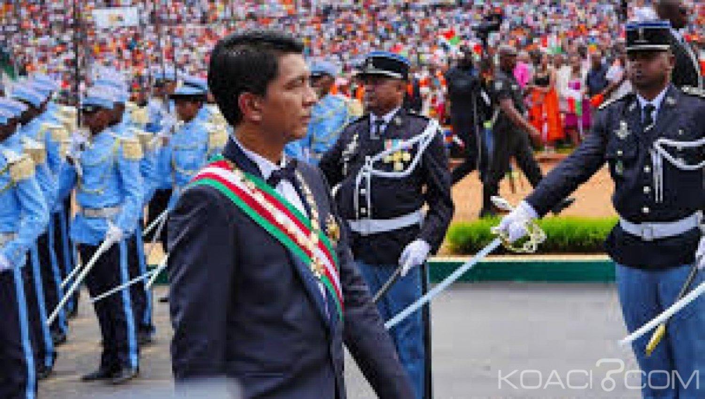 Madagascar : Andry Rajoelina investi Président