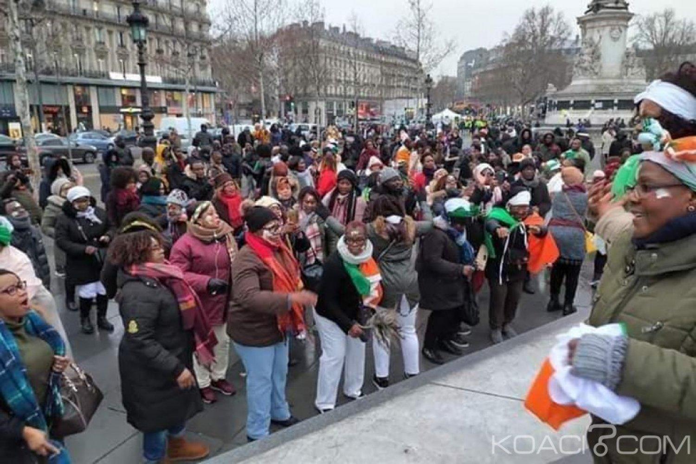Côte d'Ivoire:  Paris pris d'assaut pour réclamer la libération immédiate de Gbagbo et Blé Goudé
