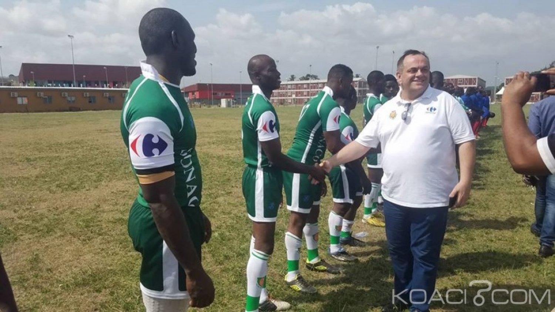 Côte d'Ivoire : Ouverture du championnat 2019-2020, Carrefour et CFAO soutiennent le rugby club de Yopougon