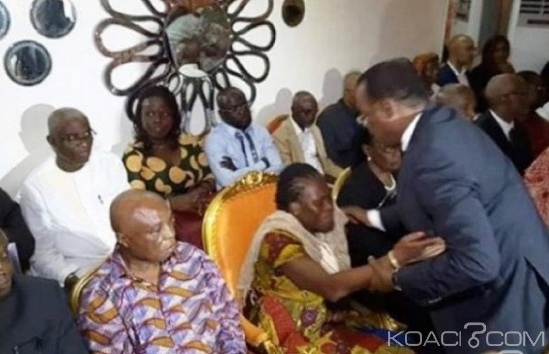 Côte d'Ivoire : FPI, Simone Gbagbo réagit à une prétendue signature d'engagement pour une conférence conjointe avec Affi