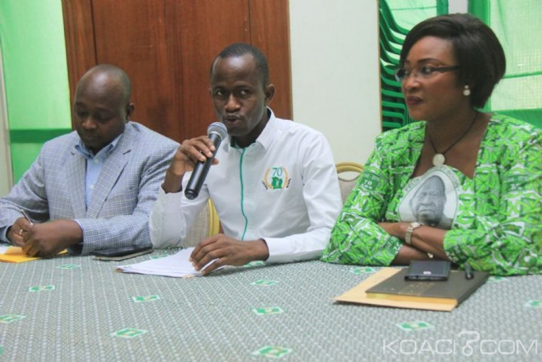 Côte d'Ivoire : Congrès Rhdp unifié, la jeunesse du Pdci met en garde