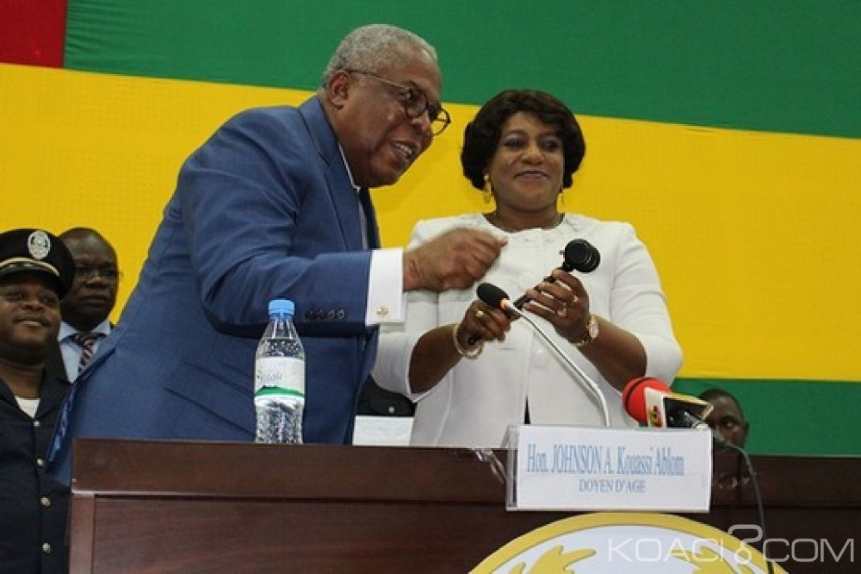 Togo : Assemblée nationale, Mme Yawa Djigbodi élue présidente