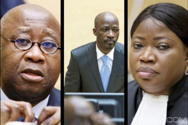 Côte d'Ivoire : Détention  Gbagbo et Blé Goudé, Bensouda a déposé sa requête qui fait cas des erreurs de la chambre et favorable à  une libération sous conditions