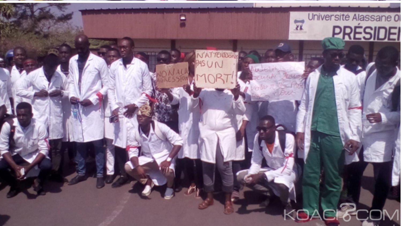 Côte d'Ivoire : Université de Bouaké, manifestation des étudiants contre les agressions dont-ils se disent victimes