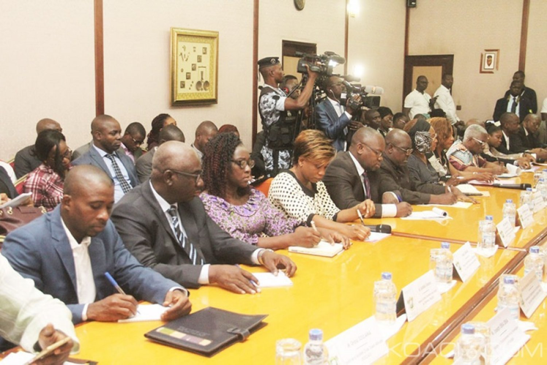 Côte d'Ivoire : Dialogue politique, la Société civile fait à son tour ses propositions au Gouvernement concernant le réexamen de la CEI
