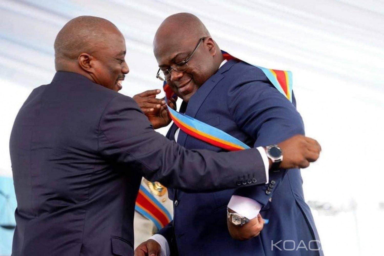 RDC : Félix Tschisekedi  fait un malaise en direct, mais reprend son discours