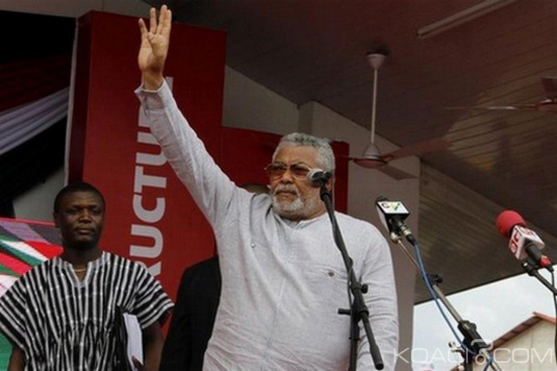 Ghana : Rawlings dément l'abandon du NDC et la création d'un nouveau parti