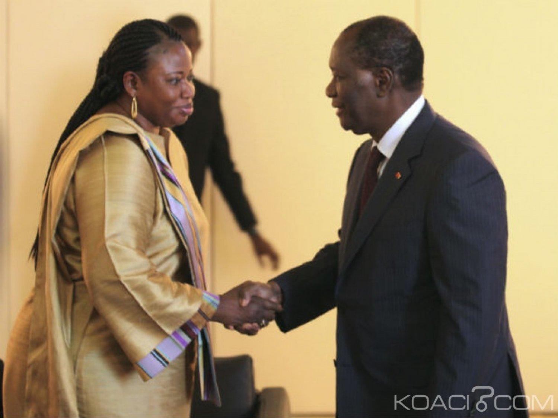 Côte d'Ivoire : Bensouda justifie la détention de Gbagbo et Blé Goudé par le non-respect d'Abidjan   d'extrader Simone Gbagbo