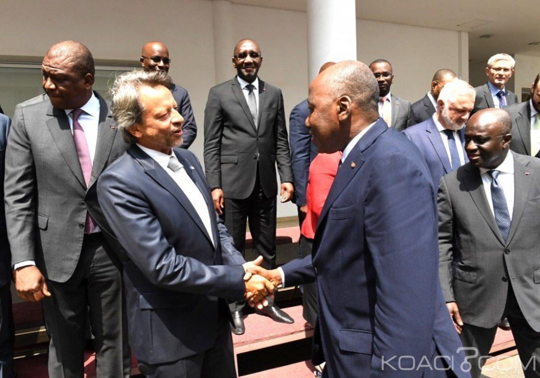 Côte d'Ivoire : Bruxelles-Abidjan, les volumes globaux d'échanges sont passés de 2800 milliards de FCFA en 2011 à plus de 4457 milliards de FCFA en 2107
