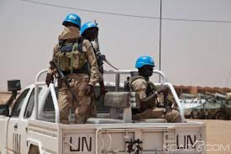 Mali: Deux  nouveaux  Casques bleus tués  dans l'explosion d'une mine dans le centre