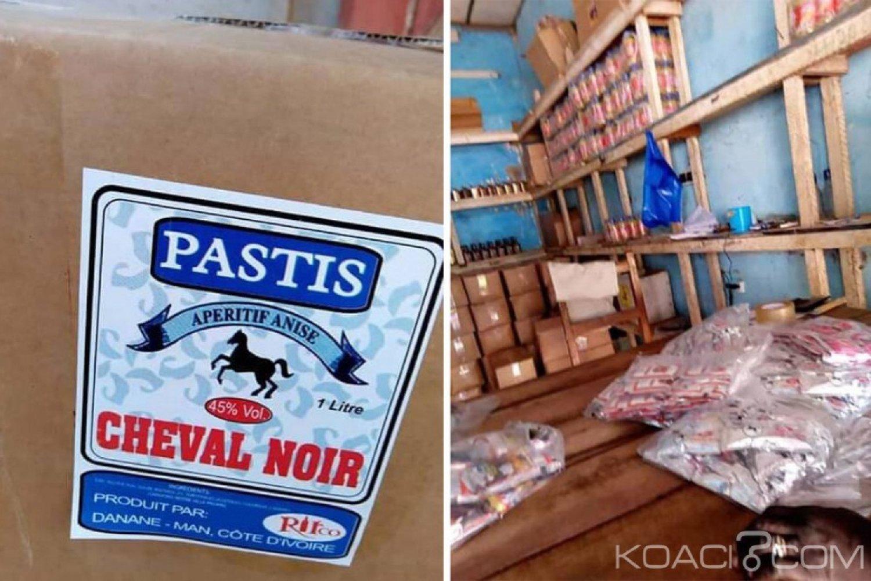 Côte d'Ivoire : Fermée à Abidjan pour non respect des normes, une unité de fabrication de boissons frelatées fait fureur à Danané