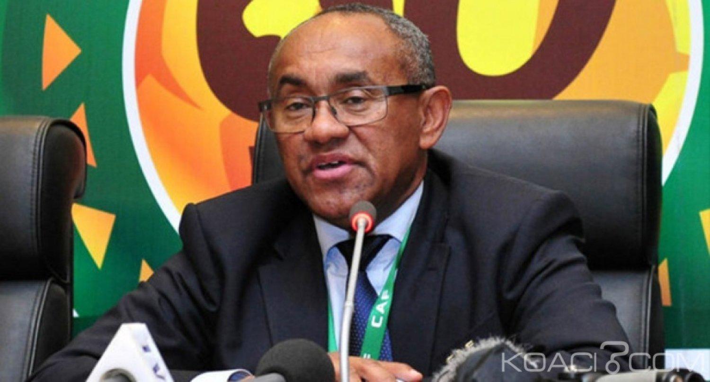 Côte d'Ivoire : Organisation des CAN 2021 et 2023, Ahmad Ahmad enfin  à Abidjan ce lundi ?