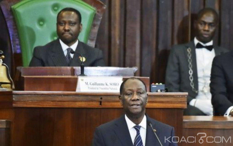 Côte d'Ivoire : Face à la presse, Ouattara annonce la démission de Soro pour Février